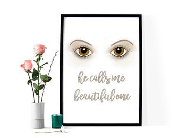 Amber Eyes ~ He Calls Me Beautiful One
