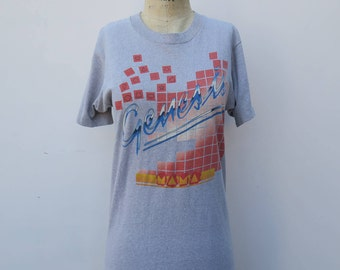 0738 - 80s - Genesis - Tour Shirt