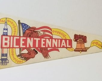 America's Bicentennial 1976 - Vintage Pennant