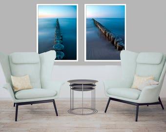 Sea Photo, Blue Sea Wall Art, Sea Print, Sea Photo Print, Sea Photography, Sea Photos, Blue Photo, Sea Wall Decor, Nature photography