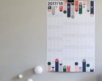 2017-2018 Academic Year Planner