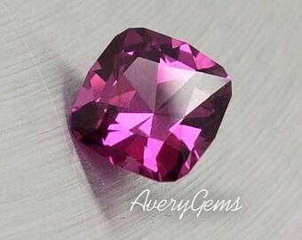 Garnet Purple 1.55 Ct Rare Loose Gemstone Natural Ror Engagement Ring Garnet Ring Necklace Precious Gemstone Precision Cut By AveryGems