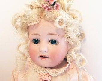 Antique Doll Beauty/ Heubach Koppesldorf Antique German Bisque Doll/ Antique Doll/ Bisque Head Doll