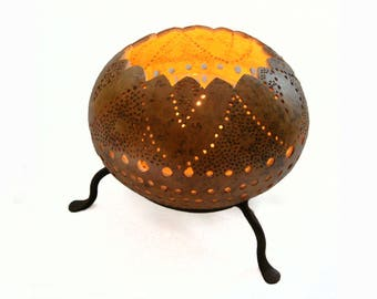 """Candle gourd decor """"slots"""""""