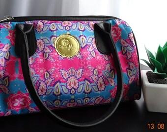 Blue & Pink Bacteria - Comeflor Handbag