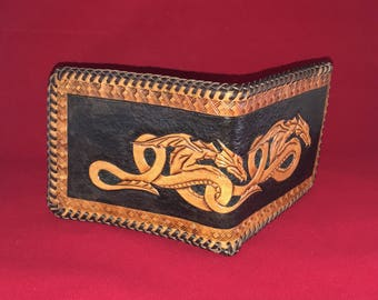 Entwined Dragons - Men's Wallet