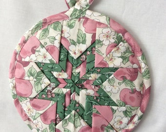 Hotmat potholder apple print