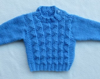 Baby Boy Girl Jumper Sweater Approx 3 months (Check Measurement Diagram carefully)