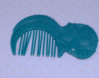Fashion Star Fillies Replacement Accessory~Teal Star Comb~Royal Beauties Tonya