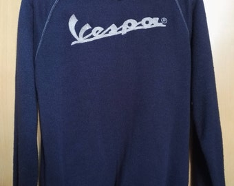Free Shipping Vintage Vespa Sweater