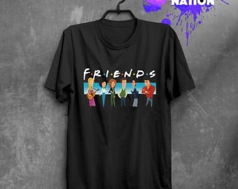 Friends Christmas Friends TV Show Shirt Gift Idea Friends Gift Quote Friend Gift Friends TV Show Movie Shirt Tumblr Graphic Tee  Xmas BF1049