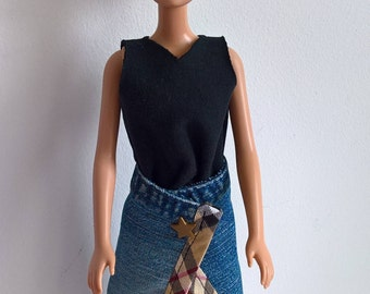 Outfit for Barbie - skirt and dress / tunic