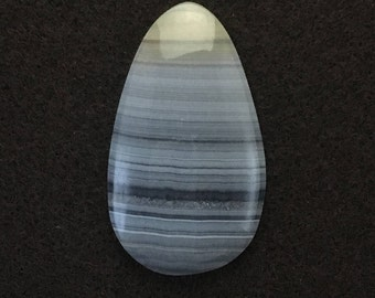 Banded Agate 39x22mm Cabochon