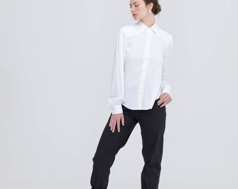 White Bamboo Shirt