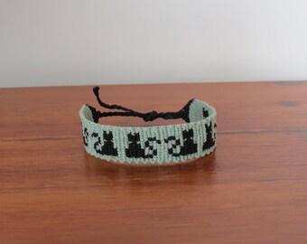 personalized cat bracelet