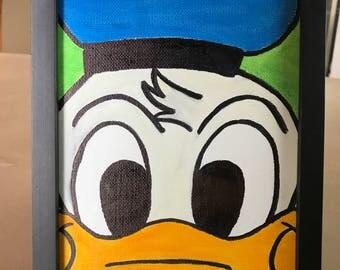 Donald Duck Canvas