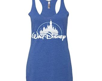 Disney Shirts. Disney Tank Top. Women's Disney Tank Top. Walt Disney Tank Top. Disney Shirts for Women. Disney Clothes for Women. 8 Colors.