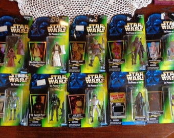 Vintage STAR WARS Action Figures - Brand New!