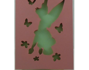 """Beautiful Butterfly Fairy"" frame"