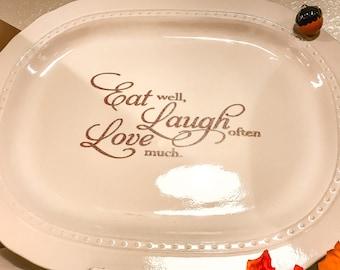 Decorative Serving  Platter