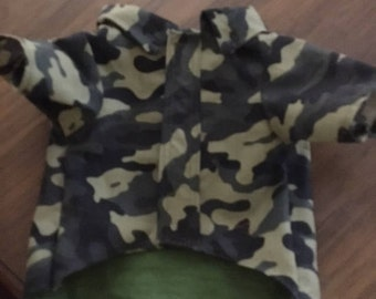Camouflage shirt  for the boy fur babies