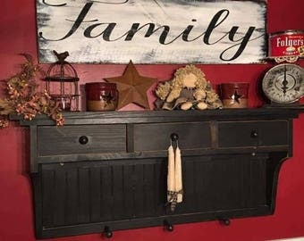 Large Family Sign - Rustic Decor - Rustic - Farmhouse - Farmhouse Decor - Country Decor