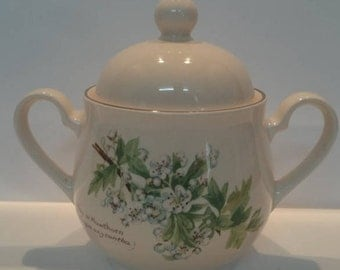 Noritake The Country Diary of a Edwardian Lady Lidded Sugar Bowl For  Tea