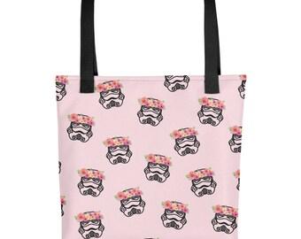 Storm Trooper Tote Bag, Star Wars Bag, Storm Trooper Bag