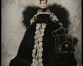 Art doll casket