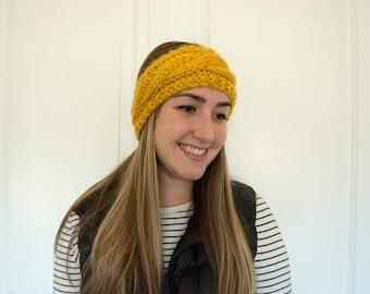 Knit Headband | Cable Knit Headband |Chunky Knit Headband | Knit Ear Warmer |