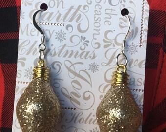 Gold Ornament Earrings