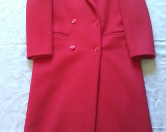 Vintage J.G. Hook Women's Wool Coat