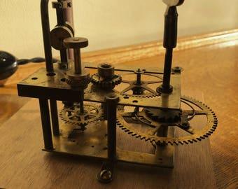 The Tic Toc: Clockwork Kinetic Sculpture