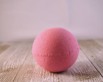 Watermelon Splash Bath Bomb, Mother's Day, Birthday Gift, Mom Gift, Bridesmaid Gift, Spa Gift for Her, Bath, Fizzy, Watermelon Fragrance