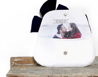 Photo Clutch. Personalized Wedding Gift. Monogram Clutch. Bridesmaids Clutches. Mother Of The Bride. Maid Of Honor Gift. Mother Of The Groom
