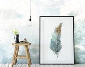 Zen Feather No. 1 - archival print