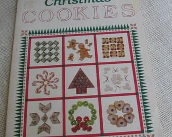 Vintage Cookie Cookbook, Christmas Cookies, Oxmoor House Cookbook, 1987, Holiday Cookbook, Christmas Cookbook, Yummy Cookies