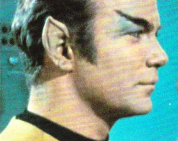 Vintage Postcard, Star Trek, Captain James T Kirk, The Original Series, 1993