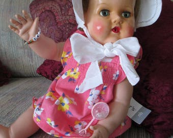 "VTG American Character 18"" Tiny Tears Doll-""Adorable Like Mommy"""