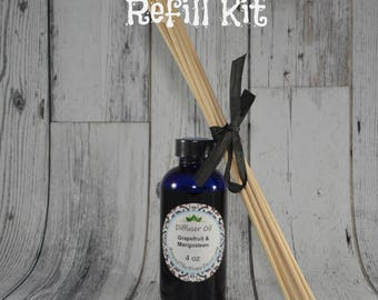Choose a Scent Reed Diffuser Refill Oil and Reeds
