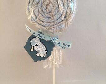 Baby lollipops baby blanket lollipop unique baby shower gift new parent gift new baby boy gift baby shower decoration baby blanket gift