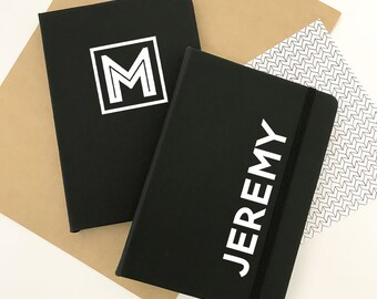 Personalized Journal for Mens Journal Mens Notebook for Men Personalized Gifts for Men Gifts for Him Birthday Gifts for Him (EB3262P)