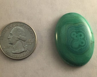 Large AAA Quality Malachite approx. 34.5mm x 24.5mm
