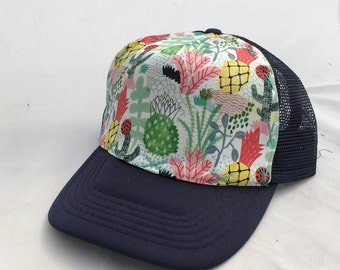 Tigersheep Friends Art Collab - Toddler Trucker Hat