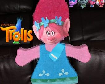 Poppy troll pinata...!