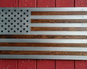 Wooden Flag, Flag, Rustic Wood Wall Decor, Rustic Wood Flag, American Flag Part 42