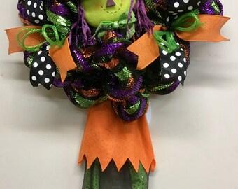 Witch Hat Wreath, Witch Legs Wreath, Witch Door Wreath, Witch Wreath, Ready To Ship Wreath, Farmhouse Wreath