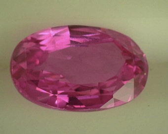 Sapphire Pink 2.65cts /Natural/Heated/ Oval/ AGL Report /Loose Sapphire