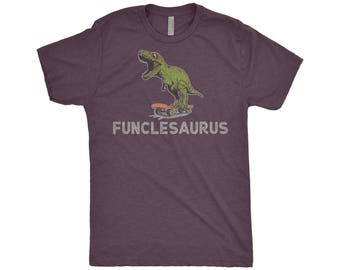 Fun Unclesaurus Rex, Funcle T-Shirt, Funny Uncle Shirt, Birthday Gift For Uncle Announcement Funcle Shirt Fun Uncle Shirt Cooler Uncle