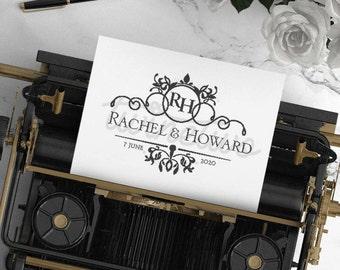 Wedding Logo Design • Wedding Monogram Design | Personalized | Ready Made | Custom | Classic | Luxury